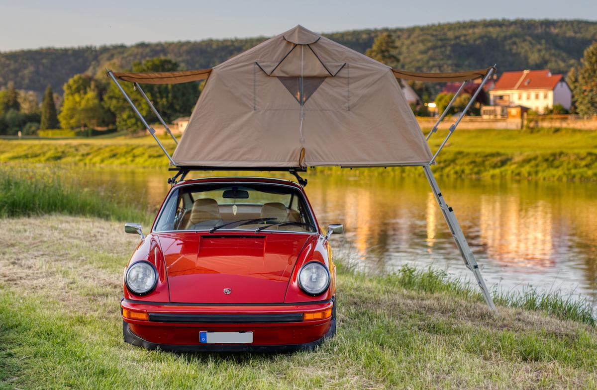 AUTOCAMP Autodachzelt Dachzelt Porsche Oldtimer Camping Outdoor 4x4 Allwheeldrive